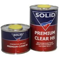 Автомобильный лак SOLID HS 2+1 Premium Clear
