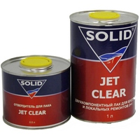 Автомобильный лак SOLID Jet Clear