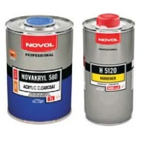 Бесцветный акриловый лак NOVAKRYL 580 2+1